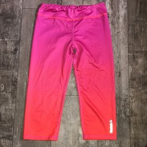 Reebok cropped athletic leggings